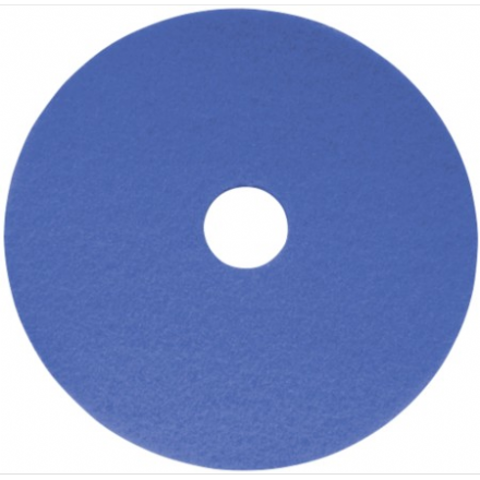 "18"" Blue Cleaning Pad"
